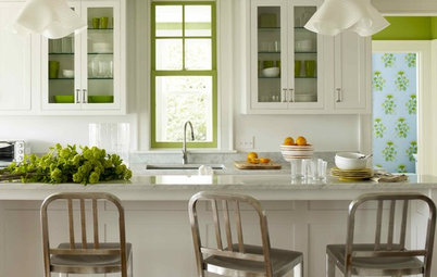 Secondary Colors Create a Punchy Focal Point