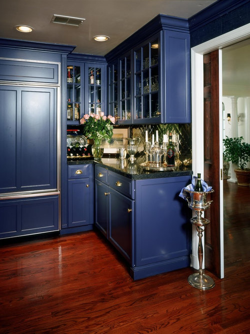 Blue Cabinets Houzz