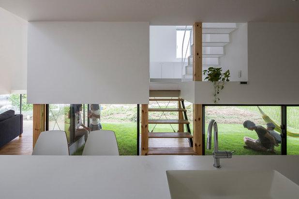 モダン キッチン by 武藤圭太郎建築設計事務所