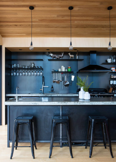 Industrial Kitchen by Dorrington Atcheson Architects