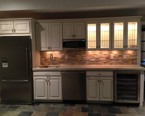 Quartz Ledge Stone Home Design Photos