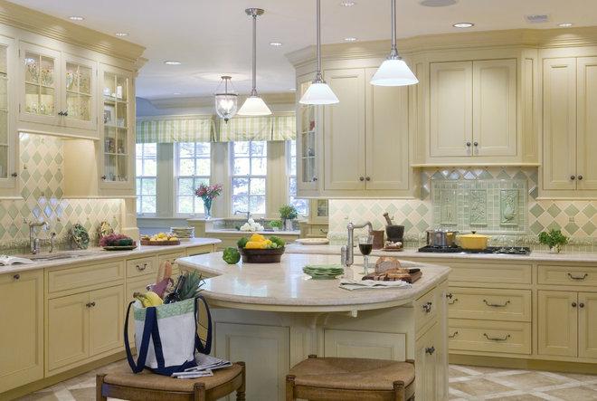 Contemporary Kitchen by Kingsley Belcher Knauss, ASID