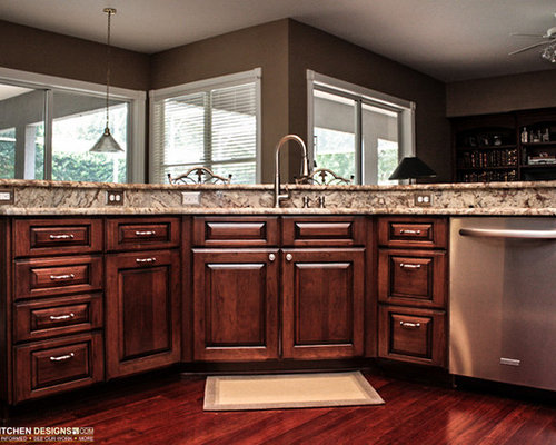 Orlando home design ideas renovations photos for Cabico kitchen cabinets reviews