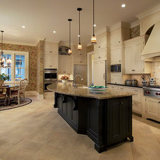 Traditional Kitchen by Crawford Builders