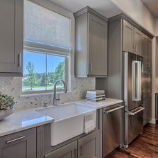 Transitional Kitchen by Housing & Building Association of Colo. Springs
