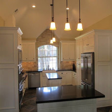 Transitional Kitchen by Lasco Remodeling and Construction