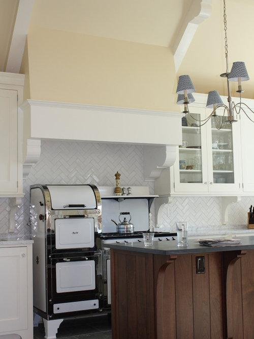 herringbone subway tile backsplash home design ideas. Black Bedroom Furniture Sets. Home Design Ideas