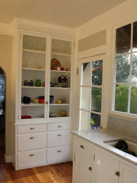 kitchen hutch cabinet | houzz
