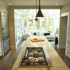 Eclectic Kitchen by Kelly Cleveland Interiors