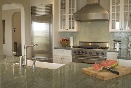 Traditional Kitchen by Kelly Scanlon Interior Design