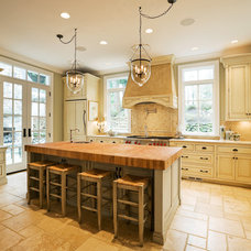 Traditional Kitchen by R.S. Stapleton Company - Custom Cabinetry