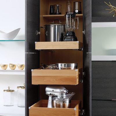 Example of a minimalist kitchen design