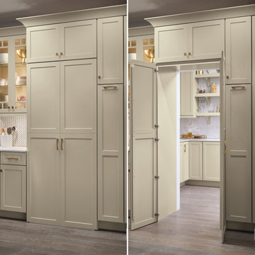Kemper Cabinets: Pantry Walk Through Cabinet