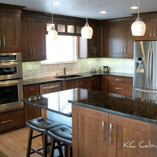 Contemporary Kitchen by KC Cabinetry Design | Renovation