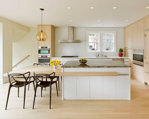 Kitchen Island Table Combo island table combination | houzz