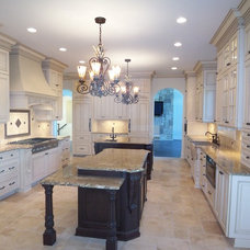 Transitional Kitchen by Artisan Home and Design
