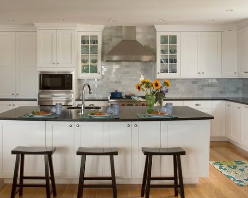 White Shaker Kitchen | Houzz