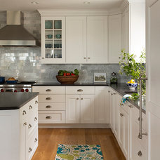 Transitional Kitchen by Heartwood Kitchens