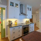 Colorful English Farmhouse - Farmhouse - Kitchen - San Francisco - by Canyon Design Build