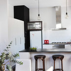 Colour House Eclectic Kitchen Melbourne By Ande Bunbury Architects