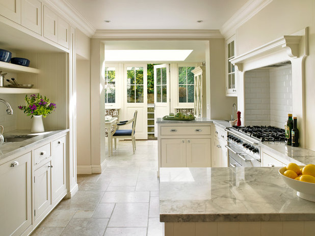 Traditional Kitchen by Clare Gaskin