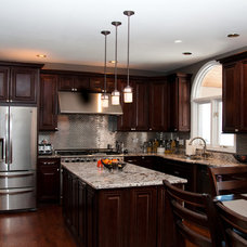 Transitional Kitchen by Choice Cabinet