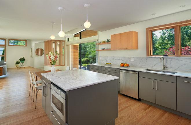 Midcentury Kitchen by Balodemas Architects