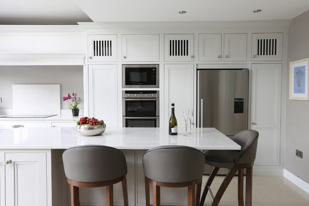 Transitional Kitchen by Noel Dempsey Design