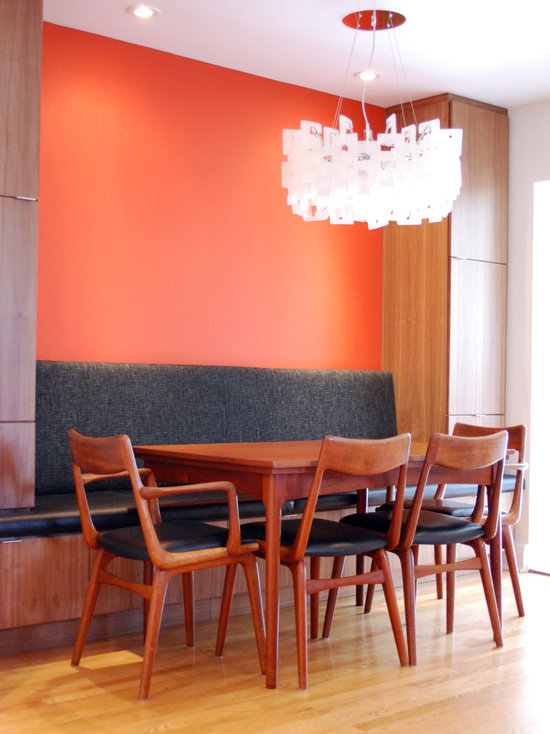 banquette dining room | houzz