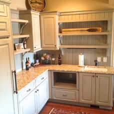 Eclectic Kitchen by Total Quality Home Builders, Inc.