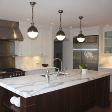 contemporary kitchen by Sarah Gallop Design Inc.