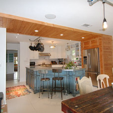 Eclectic Kitchen by Cutting Edge Renovations LLC