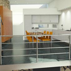 Modern Kitchen by 21A Sittard