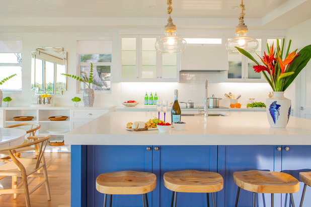 Beach Style Kitchen by Interiors by Maite Granda