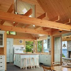 Rustic Kitchen by David Vandervort Architects