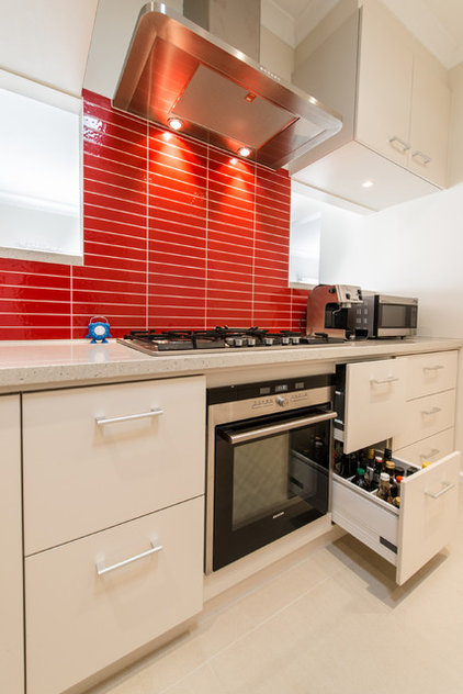 Contemporary Kitchen by Bubbles Bathrooms