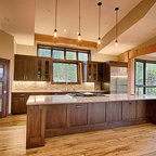 Hedwig - Rustic - Kitchen - Houston - by Thompson Custom Homes