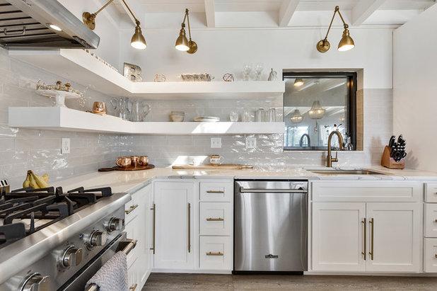 Farmhouse Kitchen by gtg Redesign