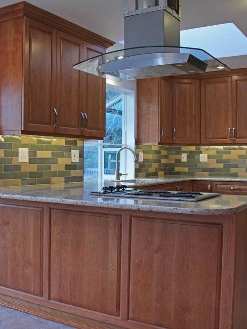 Keystone Kitchen With Wizard Bison Brick Tile