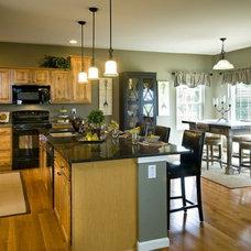 Traditional Kitchen by Keystone Custom Homes