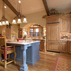 Rustic Kitchen by Markel Design Group