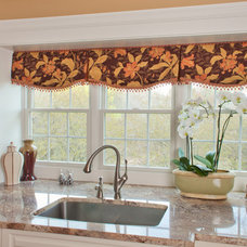 Traditional Kitchen by KH Window Fashions, Inc.