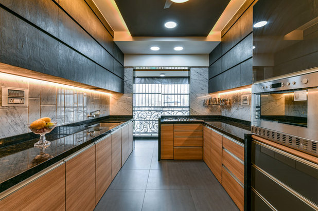 Contemporary Kitchen by CTDC