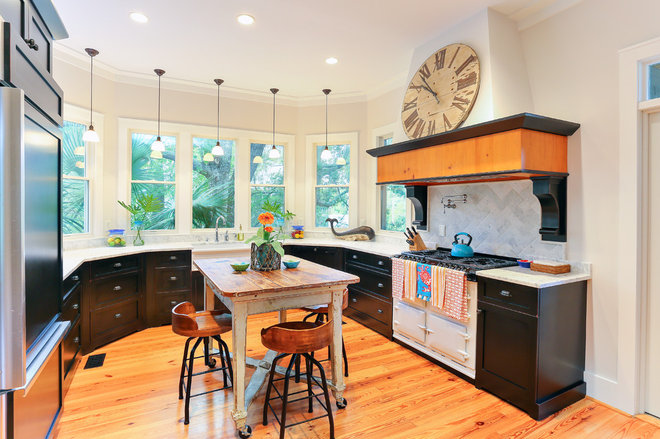 Beach Style Kitchen by Matthew Bolt Graphic Design