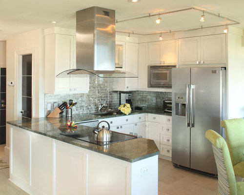Condo kitchens houzz Kitchen design for condo