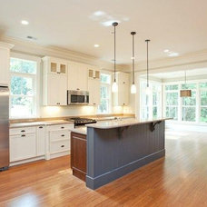 Contemporary Kitchen by Island Residential Construction