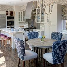 Traditional Kitchen by Buckingham Interiors + Design LLC
