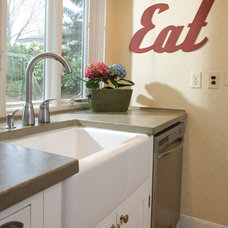 Eclectic Kitchen by Designing Solutions