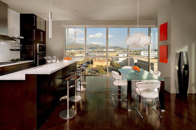 Contemporary Kitchen by Heidi Rawson Design