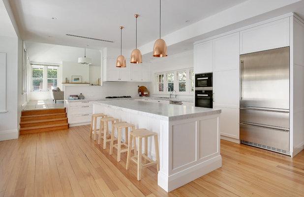 Transitional Kitchen by Dan Kitchens Australia